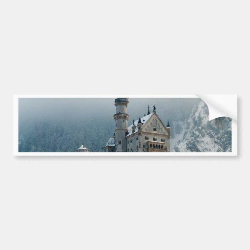 Germany Neuschwanstein Castle Bumper Sticker