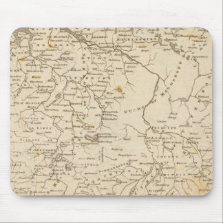 Germany north Map by Arrowsmith Mouse Mat