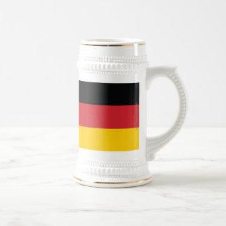 Germany Plain Flag Beer Steins