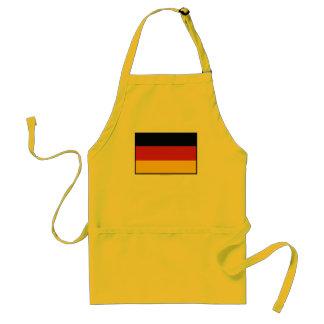 Germany Plain Flag Standard Apron