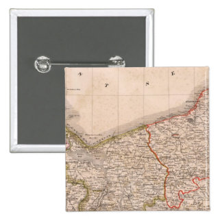 Germany, Poland 2 15 Cm Square Badge