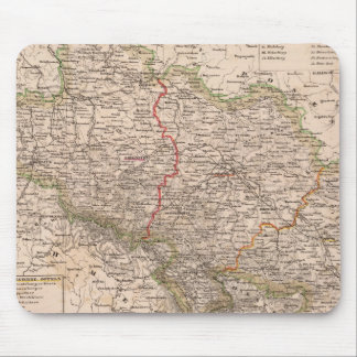 Germany, Poland Mouse Pad
