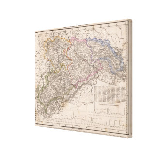 Germany Railroad Canvas Print