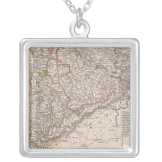 Germany Railroad Silver Plated Necklace