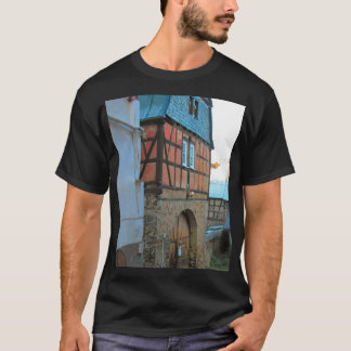 Germany, Rhineland, Rhens, half timbered houses T-Shirt