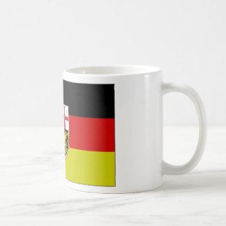 Germany SAAR Flag Coffee Mug