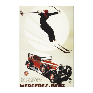 Germany - Skier Jumping Canvas Print