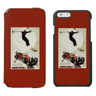 Germany - Skier Jumping Incipio Watson™ iPhone 6 Wallet Case