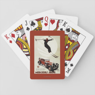 Germany - Skier Jumping Playing Cards