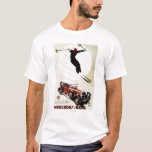 Germany - Skier Jumping T-Shirt