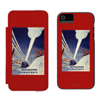 Germany - Skiing in the Black Forest Incipio Watson™ iPhone 5 Wallet Case