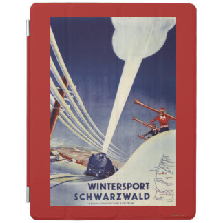 Germany - Skiing in the Black Forest iPad Cover