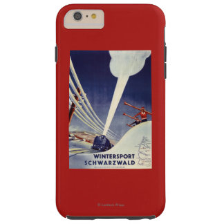Germany - Skiing in the Black Forest Tough iPhone 6 Plus Case