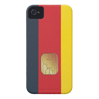 Germany Smart Card Patriot Geek Blackberry Case