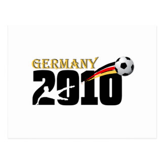 Germany Soccer 2010 fußball fans logo Postcards