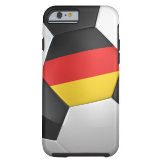Germany Soccer Ball Tough iPhone 6 Case