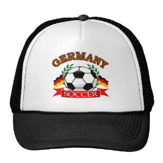 Germany soccer ball designs hat