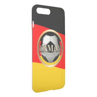 Germany Soccer Ball with German Flag Colors iPhone 7 Plus Case