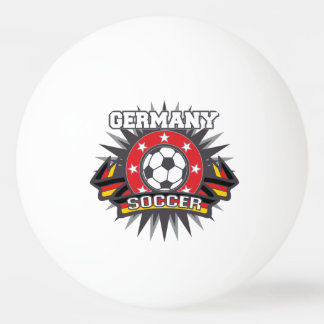 Germany Soccer Burst Ping Pong Ball