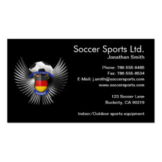 Germany Soccer Champions Pack Of Standard Business Cards