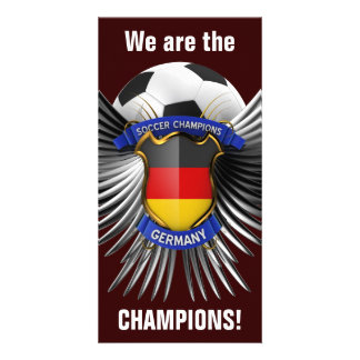 Germany Soccer Champions Photo Greeting Card