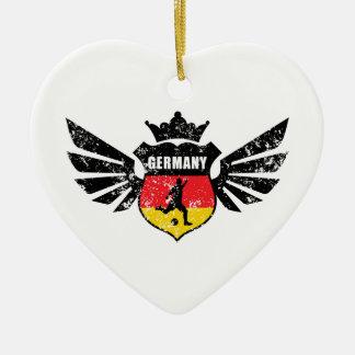 Germany soccer christmas ornament