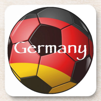 Germany Soccer Beverage Coasters