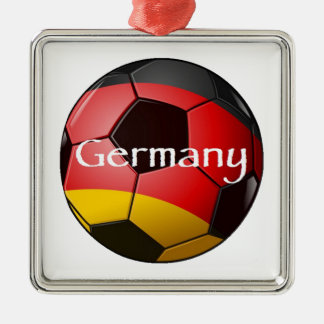 Germany Soccer Christmas Ornament