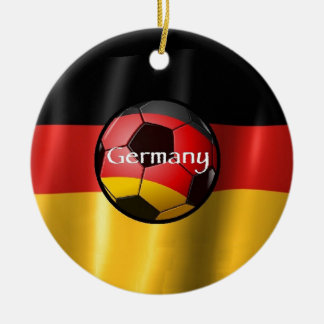 Germany Soccer Ornaments