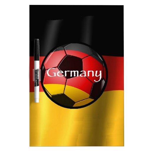 Germany Soccer Dry-Erase Board