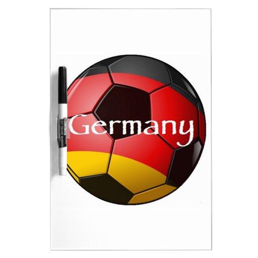 Germany Soccer Dry Erase Boards