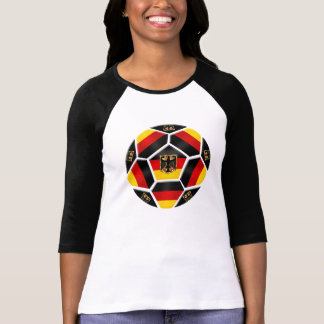 Germany Soccer - Germany Football Ball flag T-Shirt