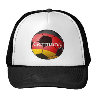 Germany Soccer Mesh Hats