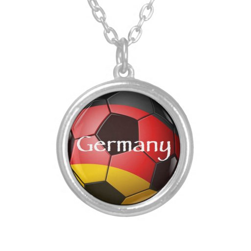 Germany Soccer Custom Jewelry