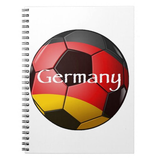 Germany Soccer Note Book