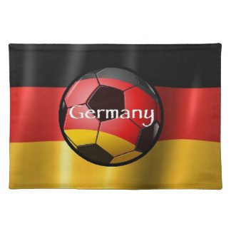 Germany Soccer Place Mat