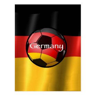 Germany Soccer Postcard