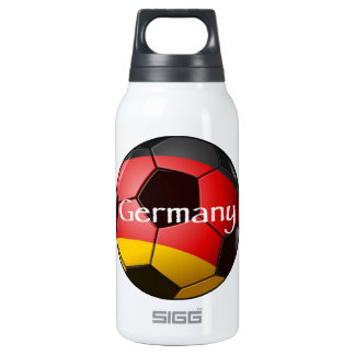 Germany Soccer 10 Oz Insulated SIGG Thermos Water Bottle
