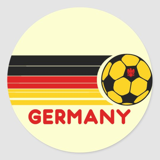 Germany Soccer Sticker