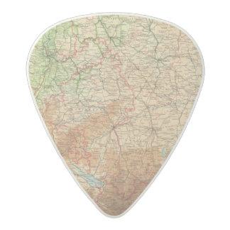 Germany southern section acetal guitar pick