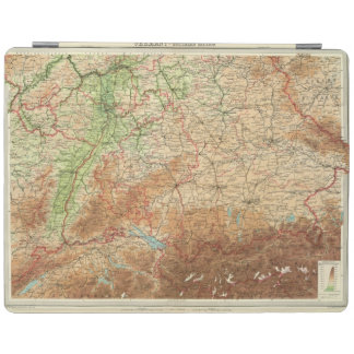 Germany southern section iPad cover