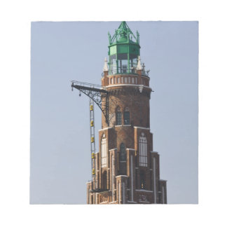 Germany, State of Bremen, Bremerhaven. Harbor Notepad