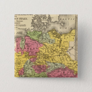Germany, Switzerland, and Northern Italy 15 Cm Square Badge