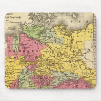 Germany, Switzerland, and Northern Italy Mouse Mat