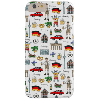 Germany | Symbols Pattern Barely There iPhone 6 Plus Case