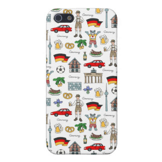 Germany   Symbols Pattern iPhone 5/5S Covers