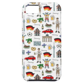Germany | Symbols Pattern iPhone 5 Case