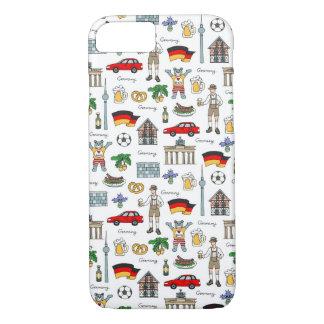 Germany | Symbols Pattern iPhone 8/7 Case