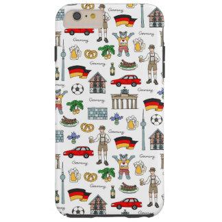 Germany | Symbols Pattern Tough iPhone 6 Plus Case