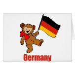 Germany Teddy Bear Card
